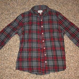 JCrew Flannel Size 14